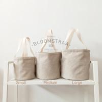 [ BURNET ] Hampers Bucket Bag Kanvas Jepang Tas Souvenir