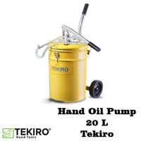 Pompa Oli Manual Hand Oil Pump 20 L Tekiro
