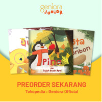 Paket Buku Cerita Anak Geniora Junior