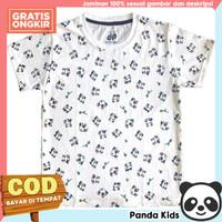 Panda Kids Kaos/ Baju Anak Lengan Pendek Motif Panda Fullprint