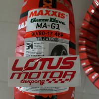 Maxxis Tubless 90/80-17 Green Devil
