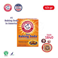 Arm&Hammer Pure Baking Soda Amerika [454 gr]