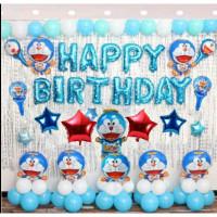 Dekorasi Happy Birthday Karakter Doraemon/Dekorasi Ulang Tahun