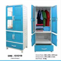 BESAR/ lemari plastik gantung napolly CRS GX 21D murah Lemari