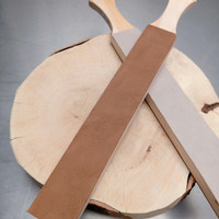 Stropping comb kulit asli berkualitas bahan kulit Sapi Kuda
