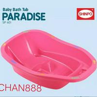 Bak Mandi Bayi / Baby Bath Paradise Shinpo 601 Ada Dudukan(GOJEK/GRAB)