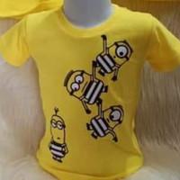 Baju Kaos Anak Karakter Minion