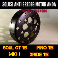 Mangkok CVT Kampas Ganda Mio J SOUL GT FINO XRIDE 115 Original Custom