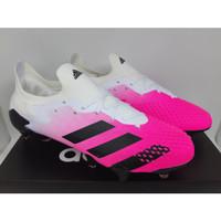 Sepatu Bola - Soccer Adidas Predator Mutator 20.1 Pink White - FG