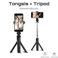 Tongsis tripod bluetooth support Xiaomi Samsung iphone Oppo Huawei