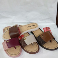 sandal japt wanita karet merk new era