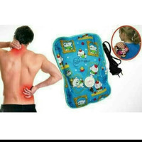 bantal air panas elektrik terapi warmer pillow anti capek pegal hangat