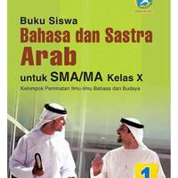 Buku Bahasa & Sastra Arab SMA/MA Kelas X - Peminatan
