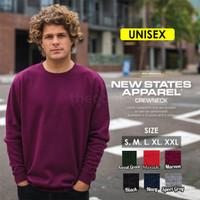 Sweater Crewneck polos NSA 9000 Import Original