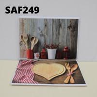 Alas foto lipat / baground foto waterproof motif SAF249