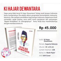 buku tokoh dan pahlawan Buku Biografi Ki Hajar Dewantara 1889-1959