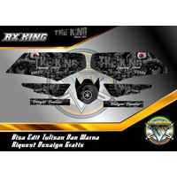 STRIPING VARIASI RX KING BLEYER BANTER