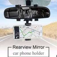 Car Phone Holder Hp Mobil GPS Kaca Spion Rearview Good Quality