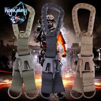 Carabiner Nylon Tactical Backpack Belt Buckle Webbing Hook Outdoor Too