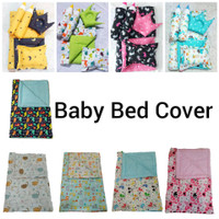 Bed Cover Bayi Set / Set Bed Cover Baby / BedSet+2 Bantal+2Guling - Bed Cover Only, Dino BCO