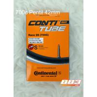 Ban Dalam Conti Tube Race CONTINENTAL 700C 20-25 Pentil 42mm