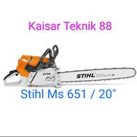 Chainsaw Stihl Ms 651/660 bar 20