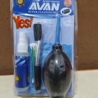 Avan Super Cleaning Set Kit Multifungsi