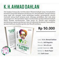 buku tokoh dan pahlawan Buku Biografi KH. Ahmad Dahlan 1869-1923