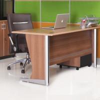 Meja kantor-kerja Uno uk-160 Lavender free ongkir wilayah jatadebek