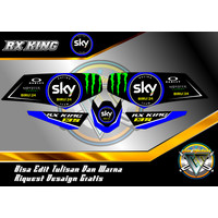 STRIPING VARIASI RX KING SKY