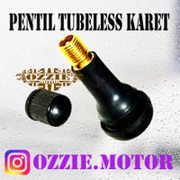 PENTIL TUBELESS KARET BAN MOTOR MOBIL / TUBELES TUBLES TUBELS TUBLLES