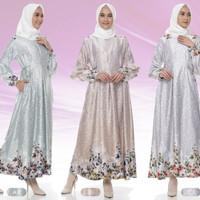 Baju Gamis Wanita Muslimah Syari Hamil Busui Friendly Franda