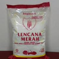 Tepung terigu lencana merah 1 kg