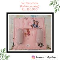 set badcover bayi/ selimut bayi/bantal bayi