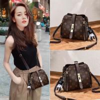 tas bahu wanita gaya korea tas punggung wanita tas selempang wanita