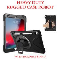 Apple iPad 6 9.7 2018 iPad 5 9.7 2017 Heavy Duty Rugged Case Robot