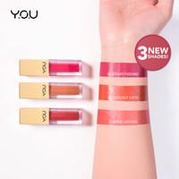YOU Rouge Velvet Matte Lip Cream & Rouge Satin Lip Cream