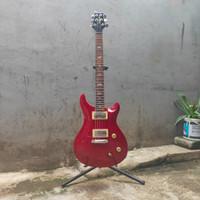 Gitar Elektrik PRS Paul Reed Smith custom Red cocok utk rock pop dll