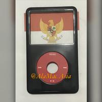 BodySet Depan iPod Classic Custom U2 Gen 6-7 Black Glossy