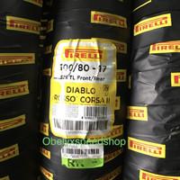 Ban Pirelli Diablo Rosso Corsa II 100/80 ring 17