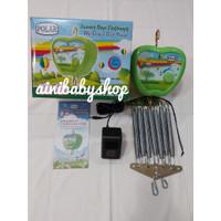 Mesin Ayunan Bayi Elektrik Otomatis Portable Per Merk POLAR APPLE