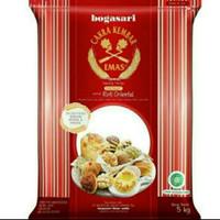 Tepung terigu cakra kembar emas oriental repack 500 gram