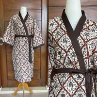 Kimono Batik Baju Tidur Spa Hotel Pria wanita