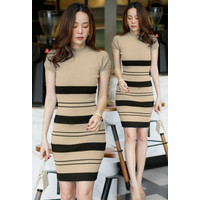 S1 Dress Tania Rajut Baju Fashion Wanita Premium Pakaian Cewek Import