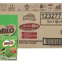 Susu Milo UHT cokelat coklat 110 ml | Grosir 1 Karton milk cair promo