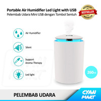Air Humidifier Aroma Therapy Diffuser Pelembab Udara Mini USB CXJ108