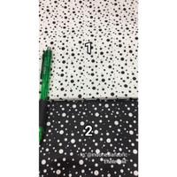 Kain bahan Katun Jepang Tokai senko motif Dalmatian