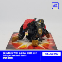Bakugan Bakutech Well Galow Black Ver. [RARE]