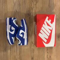 sepatu sneakers pria wanita nike sb dunk low kentucky wahite blue