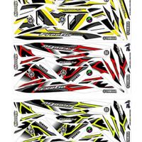 STICKER DECAL SEMI FULLBODY MOTOR FREEGO 125